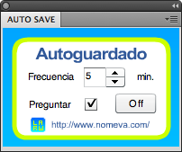 Panel Autoguardado